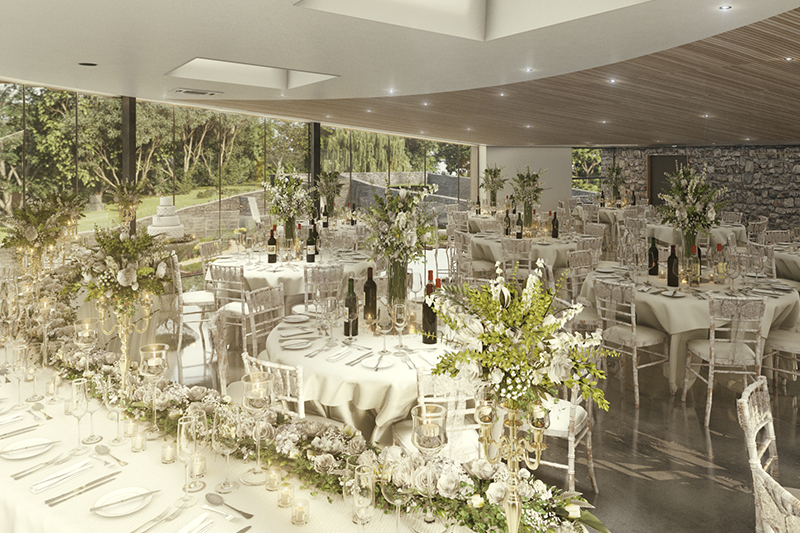 What to expect from a Fairyhill wedding showcase